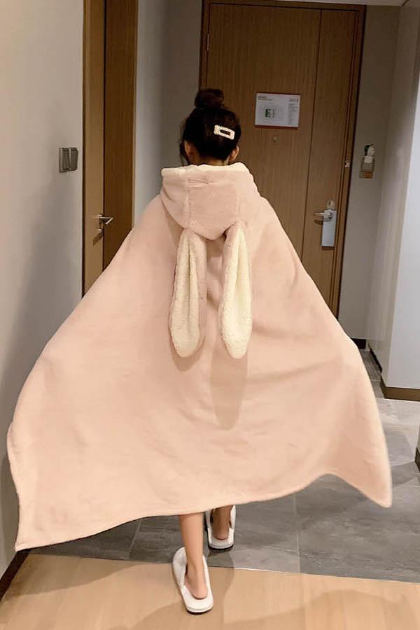 래빗 토끼 빅귀달이 망토 수면 잠옷