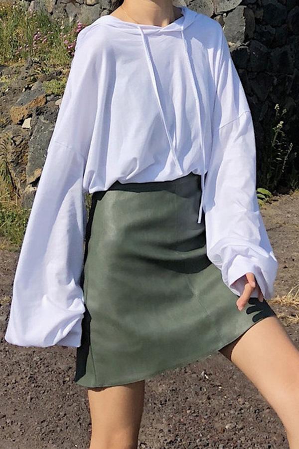 설레이는봄 소프트 데일리 후드티셔츠